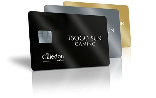 All the new Rewards The Caledon casino cards
